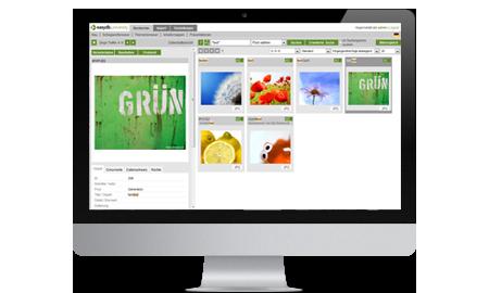 easydb flexible Bilddatenbank